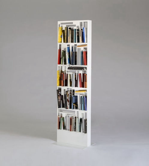 Bookshape, LetteraG, bookshelf, shelf, bookcase, metal, furniture, italian design, design, 意大利设计, イタリア人デザイナー,  意大利设计师