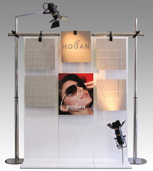 Hogan, eyewear, display, shopwindow, espositore, vetrina, occhiali, italian design, design, style, cool design, davide radaelli, italian designer, fashion, made in italy,  イタリア人デザイナー